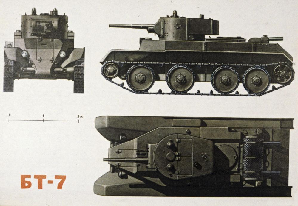 Czołg lekki BT-7