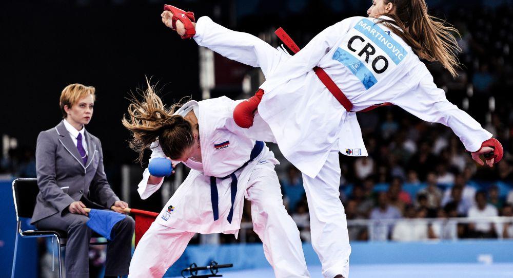 Zawody karate, Baku