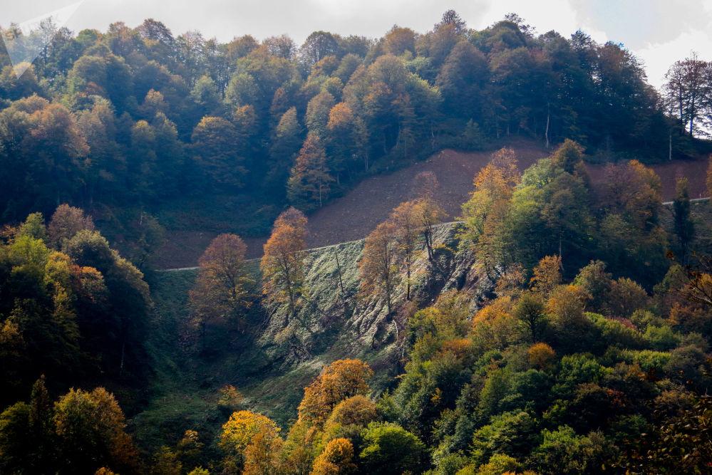 Jesień w Osetii