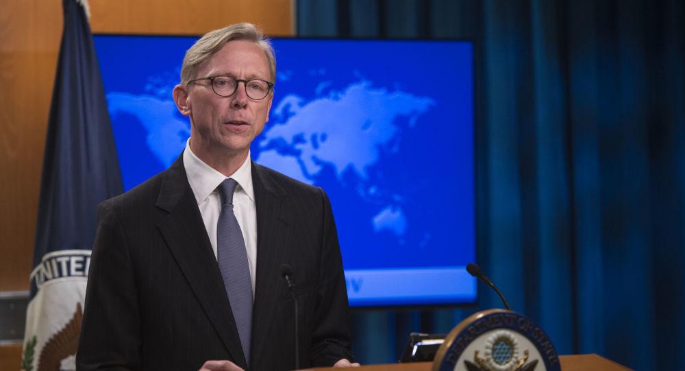 Specjalny przedstawiciel USA ds. Iranu Brian Hook