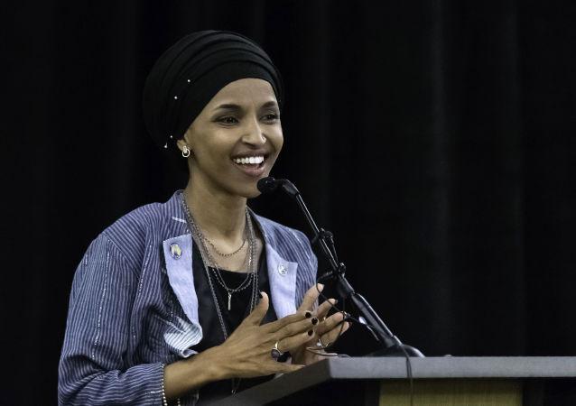 Kandydatka Partii Demokratycznej USA Ilhan Omar