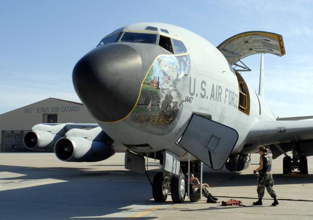 Amerykański Boeing KC-135 Stratotanker