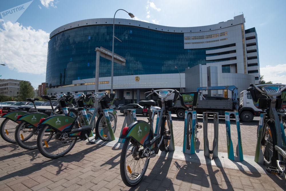 Ministerstwo Finansów Republiki Kazachstanu w Astanie