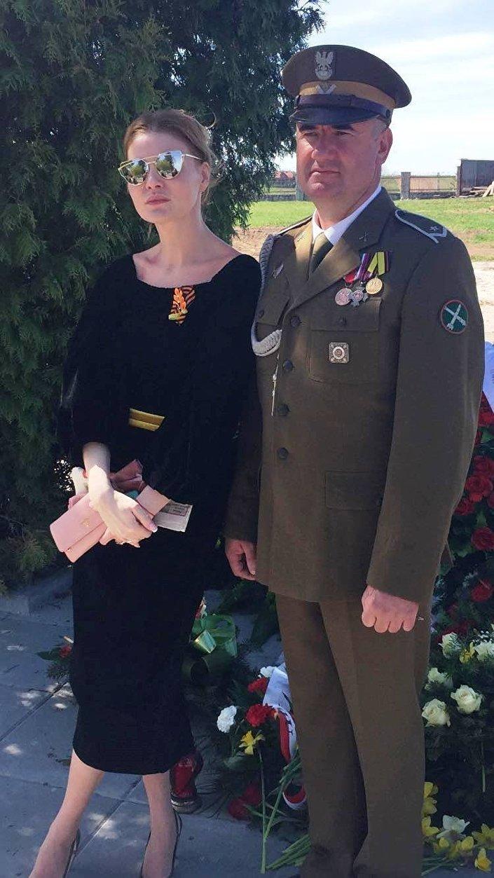 Jerzy Tyc i Anna Zacharian