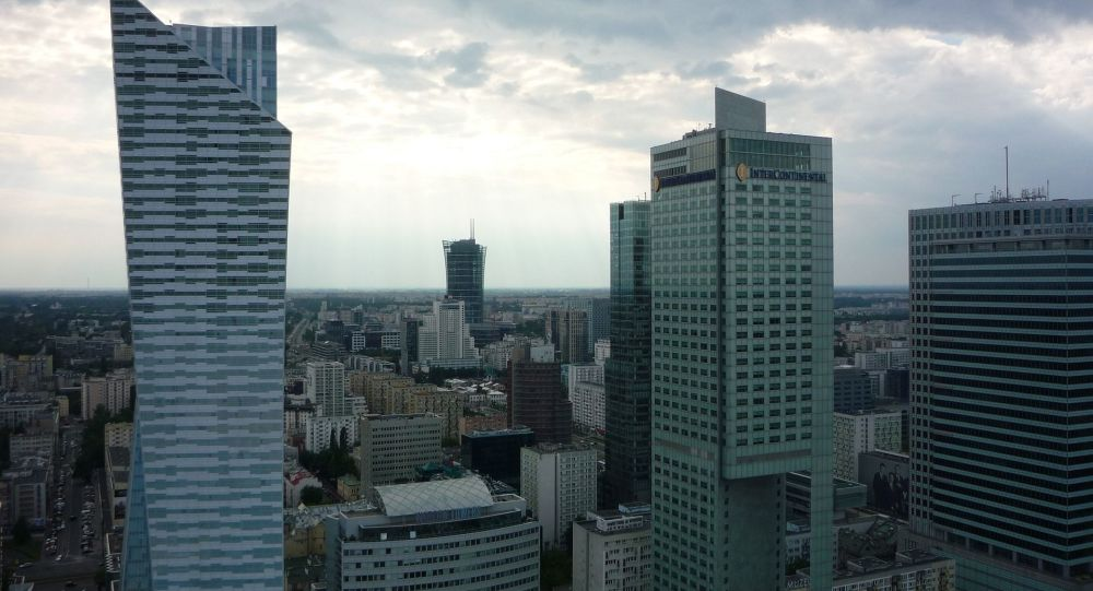 Drapacze chmur w centrum Warszawy, Polska