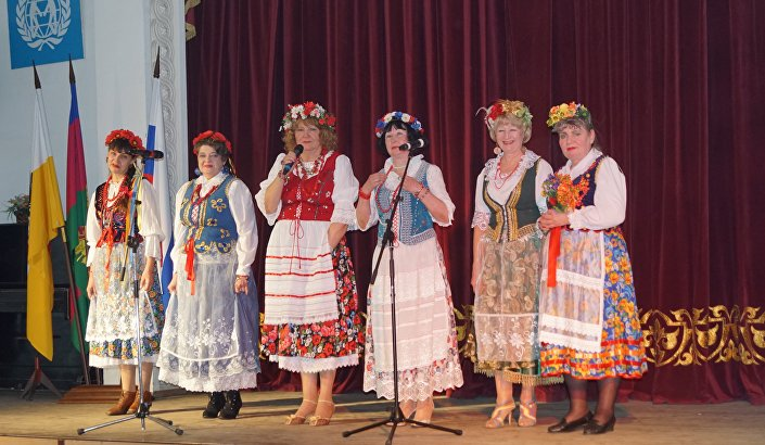 Festiwal Zespołów Polonijnych w Rosji /
