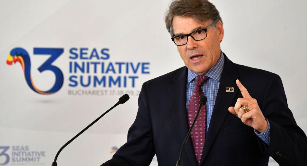 Sekretarz ds. energii USA Rick Perry