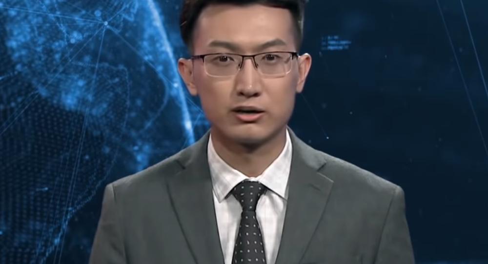 Cyfrowy prezenter w Chinach