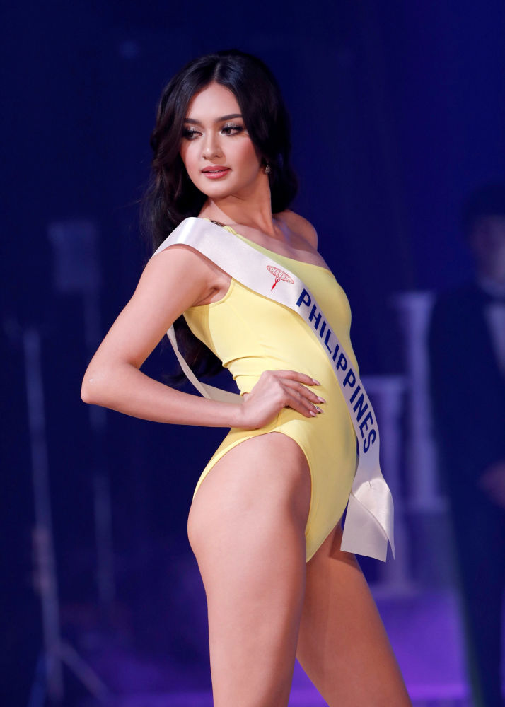 """Przedstawicielka Filipin, pierwsza finalista konkursu piękności """"Miss International – 2018"""" w Tokio, Japonia"""