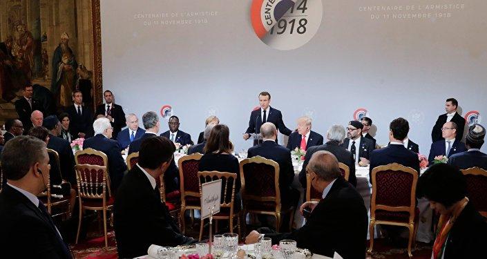 Obchody setnej rocznicy zakończenia I Wojny Światowej w Paryżu