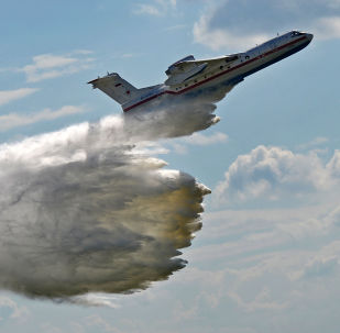 Rosyjski samolot amfibia Be-200