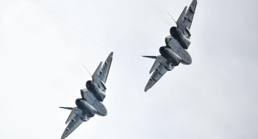 Myśliwce Su-57