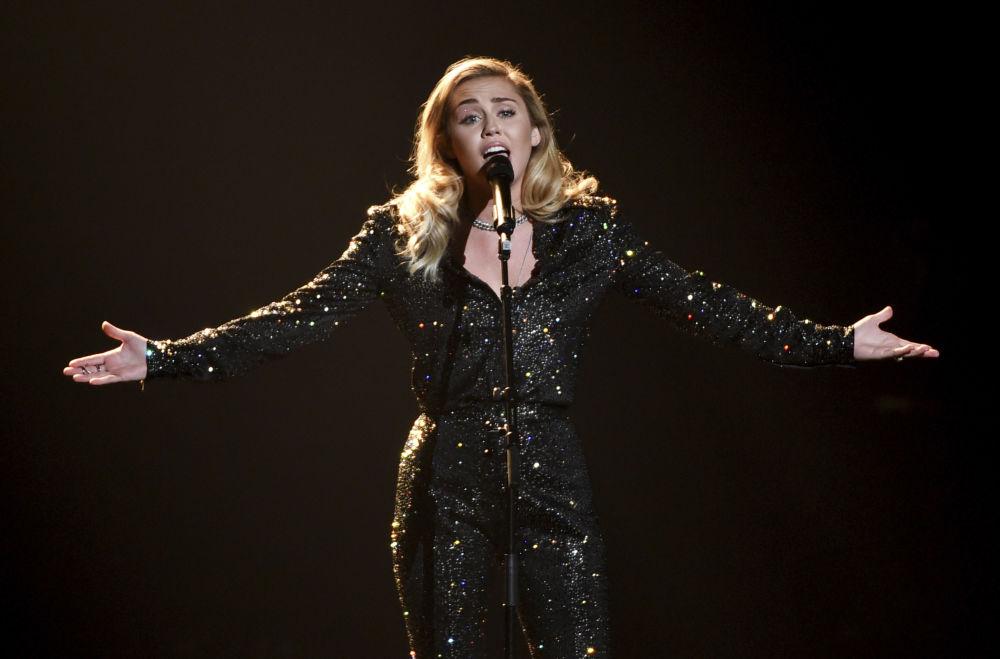 Piosenkarka Miley Cyrus
