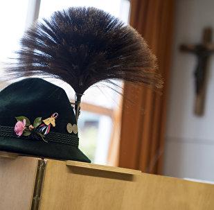 Tradycyjna bawarska czapka