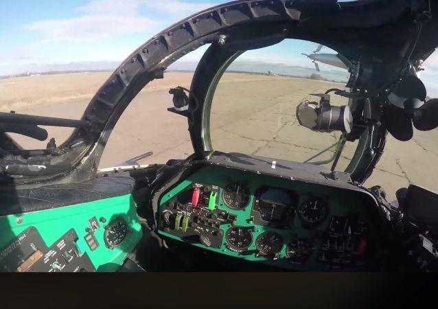 Lotnictwo operacji połączonych sił ukraińskiej armii przećwiczyło ataki na obiekty przeciwnika w Donbasie