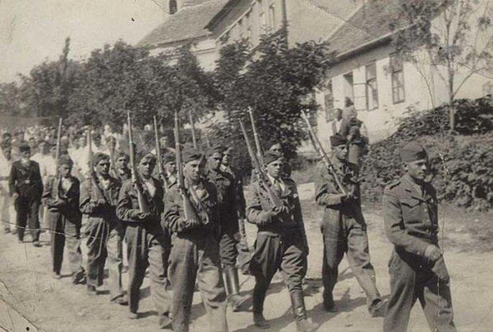 Żołnierze z Wołynia w Czechach