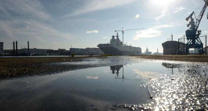 Drugi śmigłowcowiec Sewastopol typu Mistral
