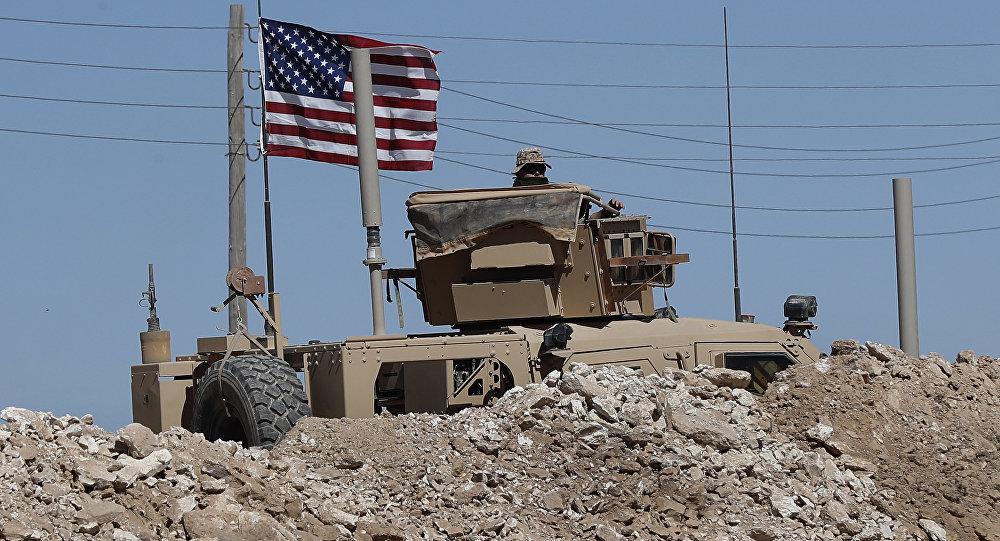 Amerykański sprzęt w Syrii