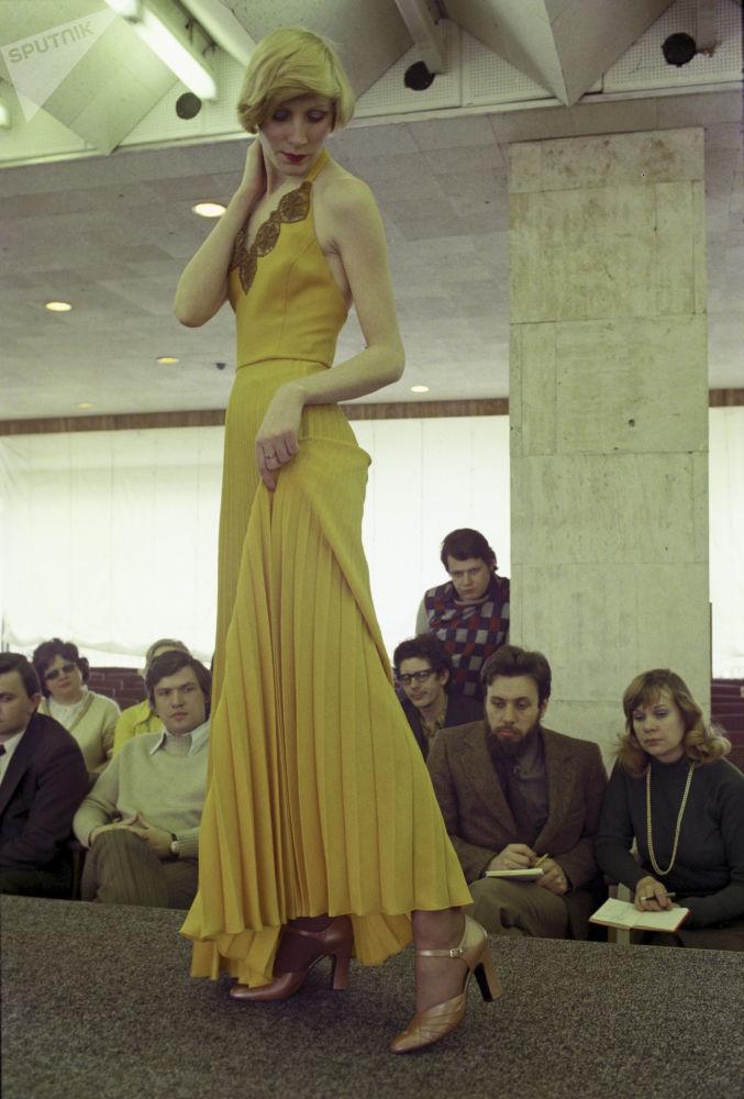 Pokaz mody obuwia, 1976 rok