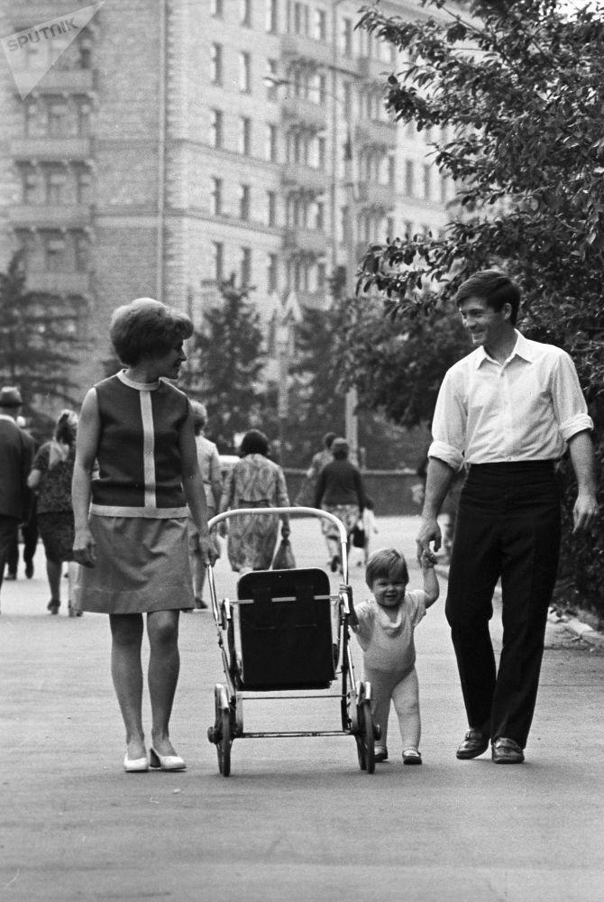 Spacer. Moskwa, 1973 rok