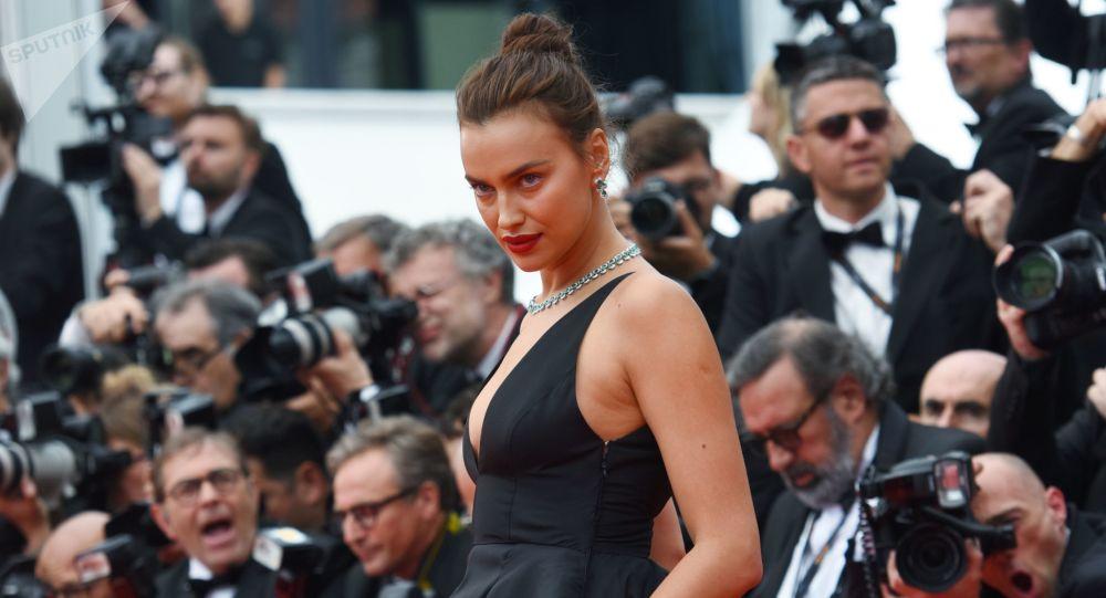 Modelka Irina Shayk