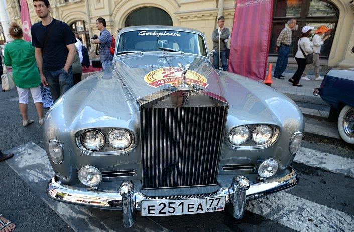 Rolls-Royce Silver Cloud model (1962)