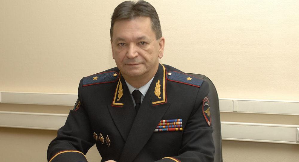 Szef Krajowego Biura Centralnego Interpolu Ministerstwa Spraw Wewnętrznych Rosji major policji Aleksander Prokopczuk