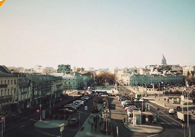 Jak zmieniła się Moskwa w ciągu ostatnich stu lat