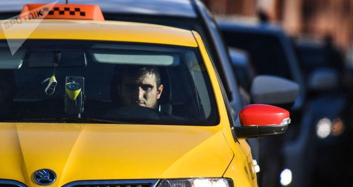 Moskiewska taksówka