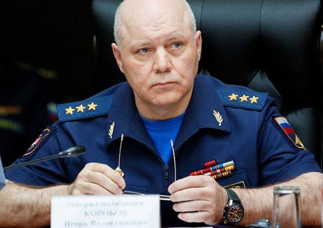 Szef Głównego Zarządu Wywiadowczego Sztabu Generalnego Sił Zbrojnych Federacji Rosyjskiej Igor Walentynowicz Korobow