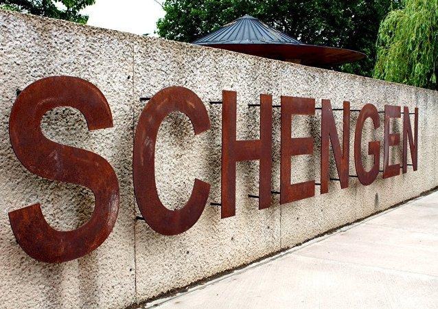Znak Schengen