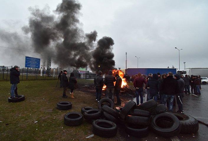 Bunt kierowców na polsko-ukraińskiej granicy