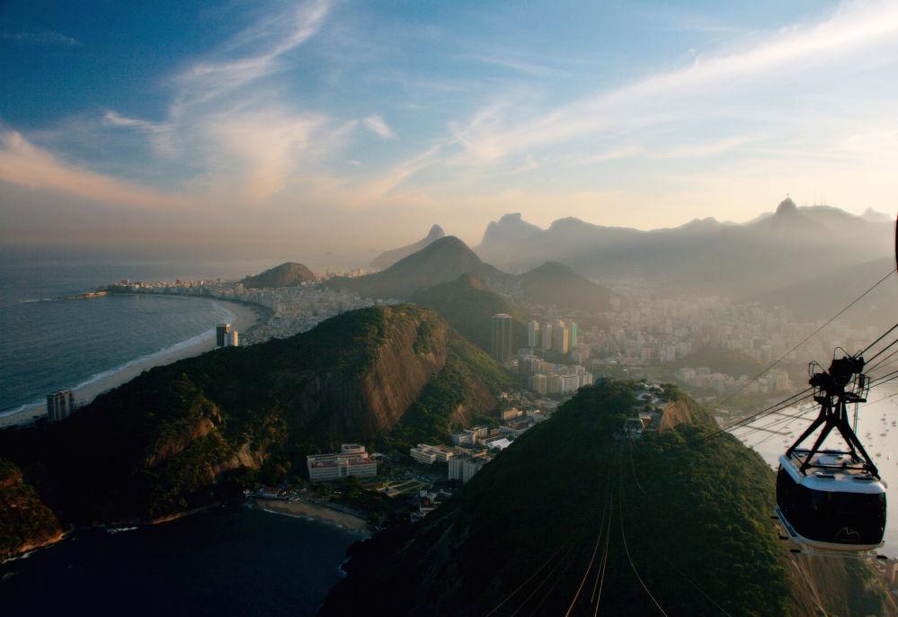Kolejka linowa w Rio de Janeiro