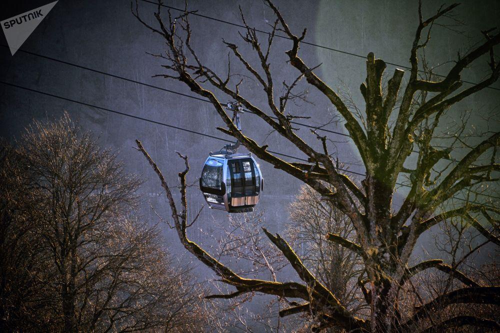 Kolejka linowa Olimpia w Soczi