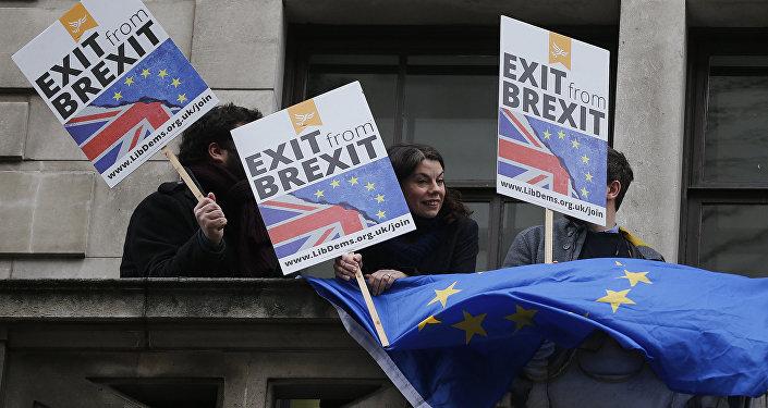 Przeciwnicy Brexitu