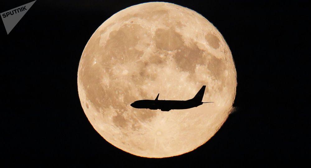 Pełnia księżyca w obwodzie moskiewskim