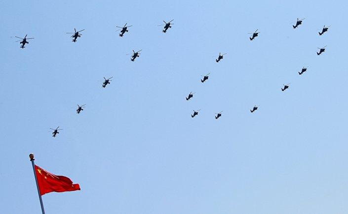 Defilada wojskowa w Pekinie z okazji 70. rocznicy zwycięstwa, 3 września 2015