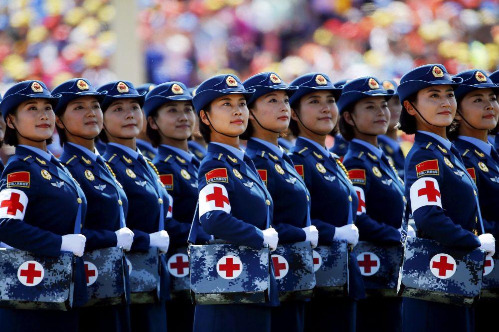 Defilada w Pekinie z okazji 70. rocznicy zwycięstwa w II wojnie światowej
