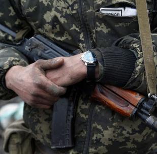 Żołnierz ukraińskiej armii