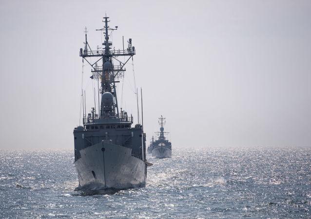 Okręty NATO na Morzu Czarnym
