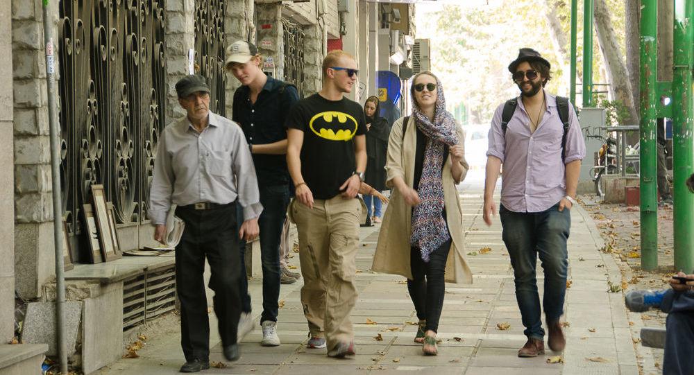 Turyści w Teheranie