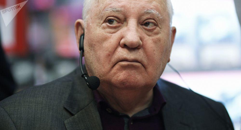 Były prezydent ZSRR Michaił Gorbaczow