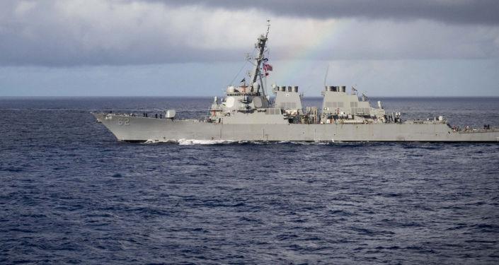 Niszczyciel rakietowy USA McCampbell