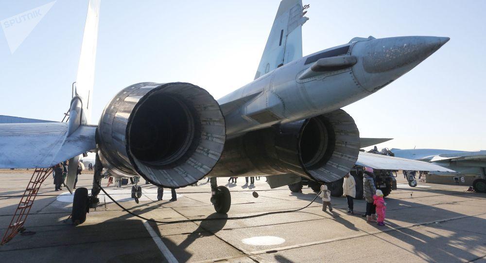 Myśliwiec Su-35S na lotnisku we Władywostoku