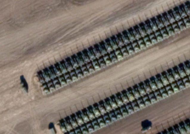 Zdjęcia satelitarne z Defence Blog