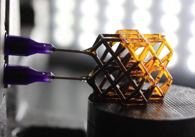 Elastyczny metamateriał szybko utwardzający się w polu magnetycznym