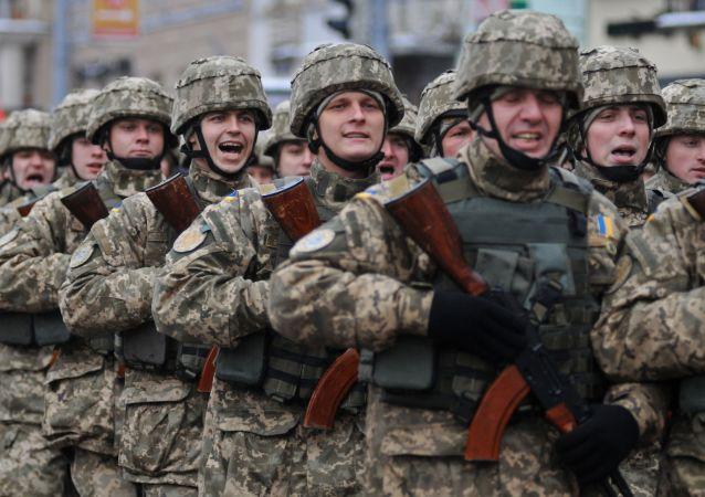 Ukraińscy żołnierze, Lwów