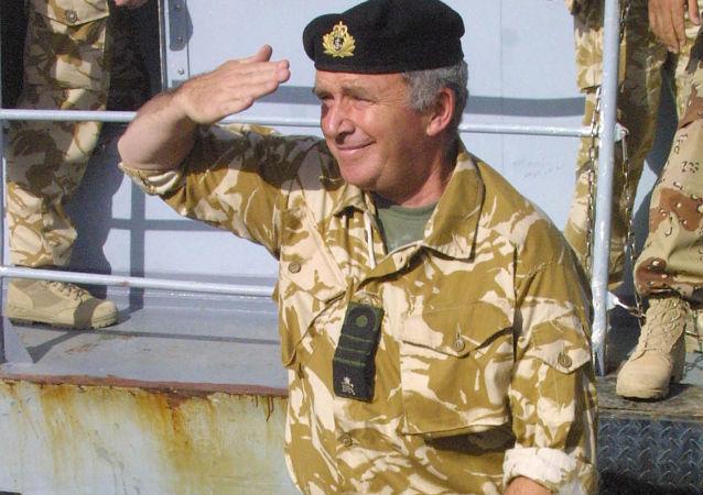 Brytyjski admirał Alan West