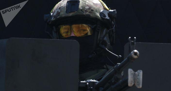 Żołnierz rosyjskiego Specnazu