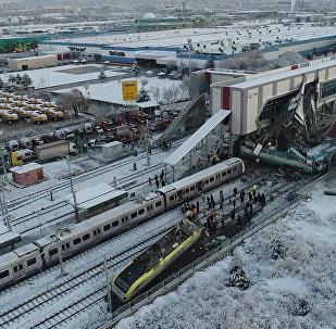 Katastrofa kolejowa w Ankarze